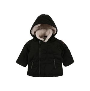 UNITED COLORS OF BENETTON Zimní bunda  černá