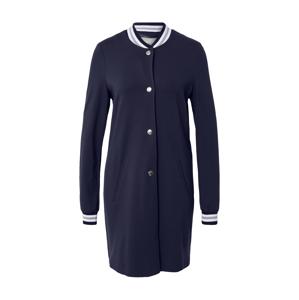 Amber & June Přechodný kabát  námořnická modř / bílá / světle šedá