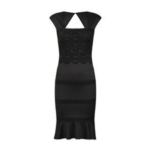 Lipsy Koktejlové šaty  černá