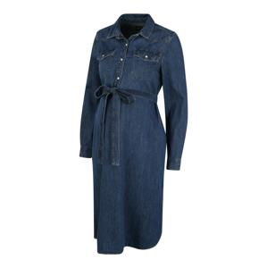 Gap Maternity Košilové šaty 'New Western'  indigo
