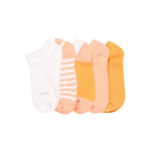 Cotton On Ponožky  pastelově růžová / bílá / oranžová