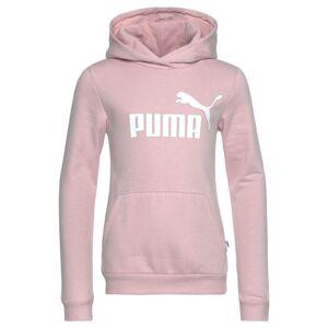 PUMA Sportovní mikina  bílá / růžová