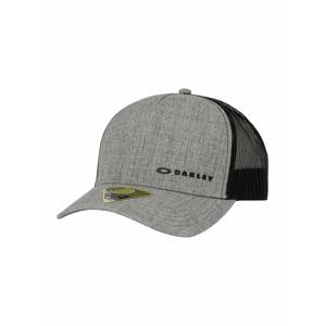OAKLEY Sportovní kšiltovka 'CHALTEN'  šedý melír / černá / zlatá