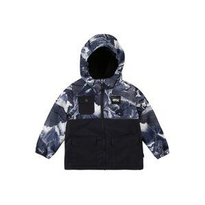 Picture Organic Clothing Sportovní bunda 'Snowy'  černá / bílá