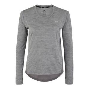 NIKE Funkční tričko 'MILER'  šedá
