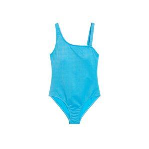 VIOLETA by Mango Plavky 'Lulu'  svítivě modrá