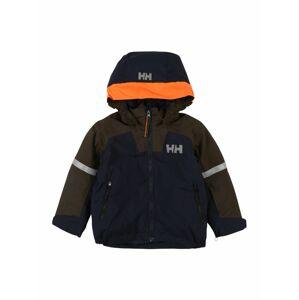 HELLY HANSEN Outdoorová bunda 'LEGEND'  oranžová / námořnická modř / olivová / stříbrně šedá