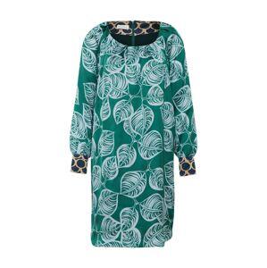 RENÉ LEZARD Košilové šaty  zelená / mix barev