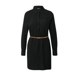Eight2Nine Košilové šaty  černá