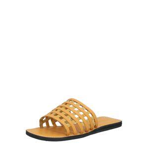 Shoe The Bear Pantofle 'TAO CAGE'  žlutá