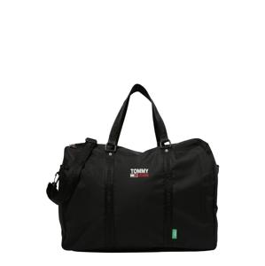 Tommy Jeans Cestovní taška 'CAMPUS'  černá / bílá / červená