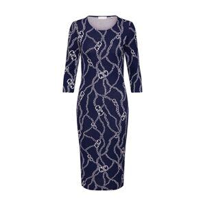 Rich & Royal Šaty  námořnická modř / bílá