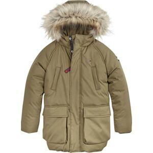 TOMMY HILFIGER Zimní bunda  khaki