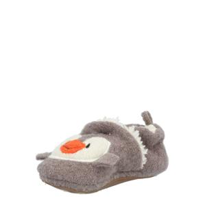 MAXIMO Novorozenci 'Pinguin'  bílá / černá / tmavě oranžová / režná