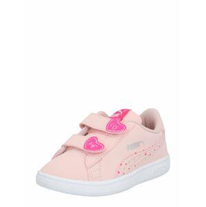 PUMA Polobotky 'Smash v2 Cndy'  pink / stříbrná / růže