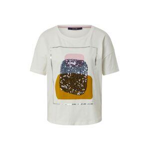 LAUREL Tričko  bílá / mix barev