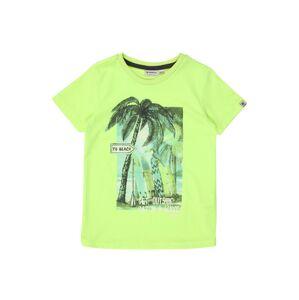 GARCIA Tričko  svítivě zelená