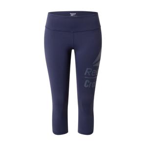 REEBOK Sportovní kalhoty  námořnická modř