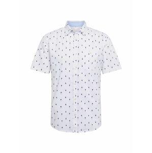 TOM TAILOR Košile  námořnická modř / bílá