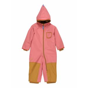 FINKID Funkční oblek 'PIKKU'  pink / hnědá
