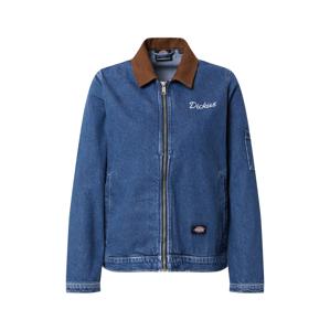 DICKIES Přechodná bunda 'Halma Eisenhower'  modrá džínovina