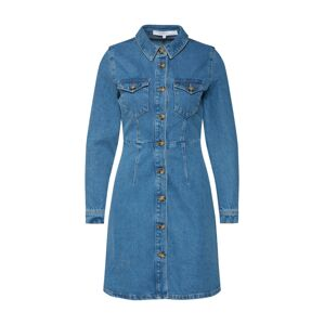 ABOUT YOU x Gizem Emre Košilové šaty 'Ayana'  modrá džínovina