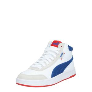 PUMA Kotníkové tenisky 'Court Legend'  bílá / modrá / tělová
