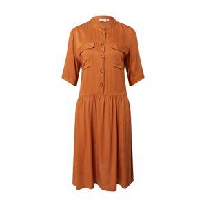 SAINT TROPEZ Košilové šaty 'Baile'  rezavě hnědá