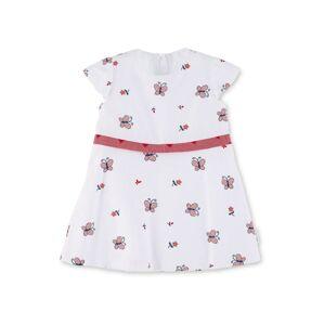 STERNTALER Šaty  bílá / červená / námořnická modř