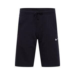 Nike Sportswear Kalhoty  černá / bílá