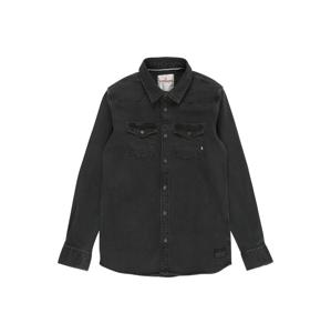 VINGINO Košile 'Luuk'  černá džínovina
